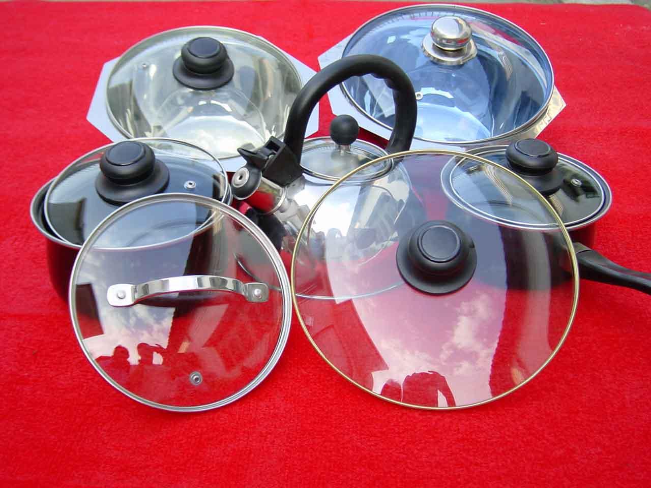 Type G Cookware Glass Lids (Тип G посуда стеклянной крышкой)