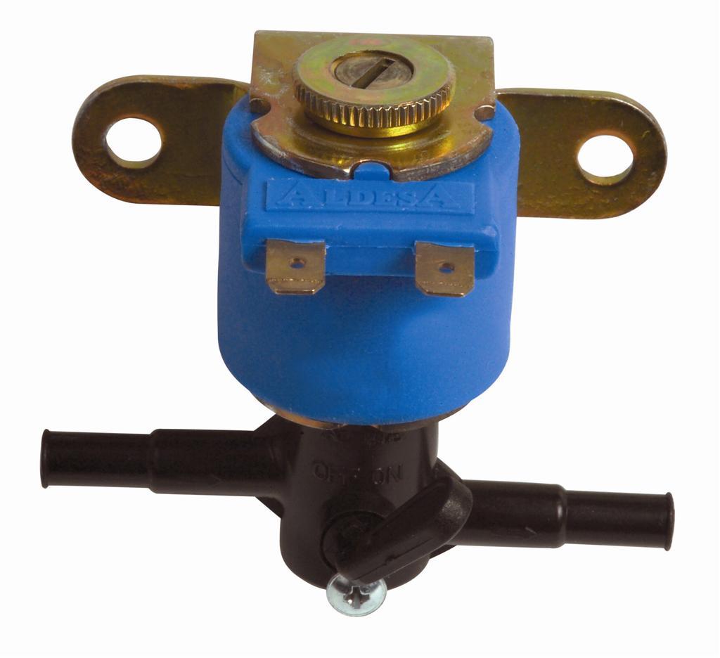 Petrol Solenoid Valve (Бензин электромагнитный клапан)
