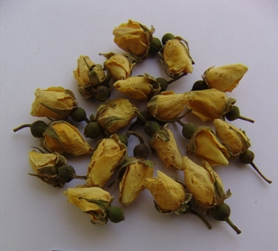 Dried Yellow Rose Buds