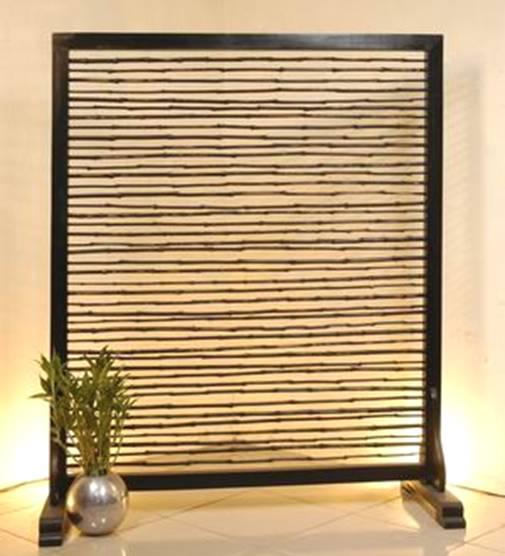 Screen Bamboo 1 Panel (Экран бамбука 1 группы)