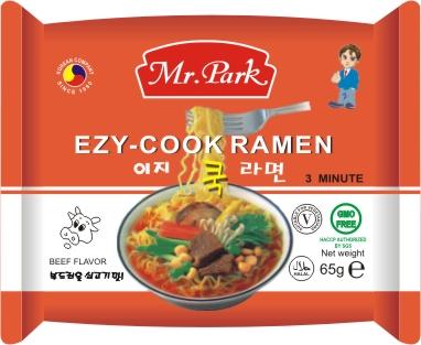 [Mr.Park] Instant Noodle 65g ([Mr.Park] Instant Noodle 65g)