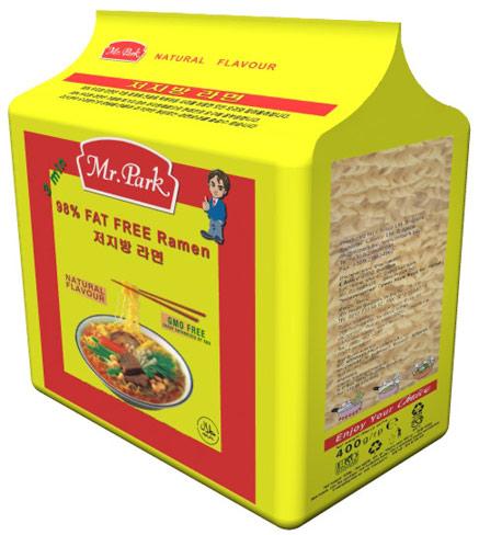 [mr. Park] 98% Fat Free Ramen 400g ([Mr. Парк] 98% Fat Fr  Ramen 400g)