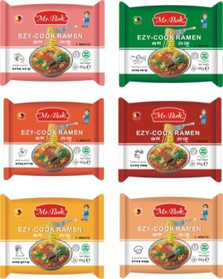 [Mr. Park] Instant Noodle 65g ([Г-н Park] Instant Noodle 65G)