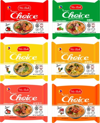 [Mr. Park] Korean Instant Noodle 85g