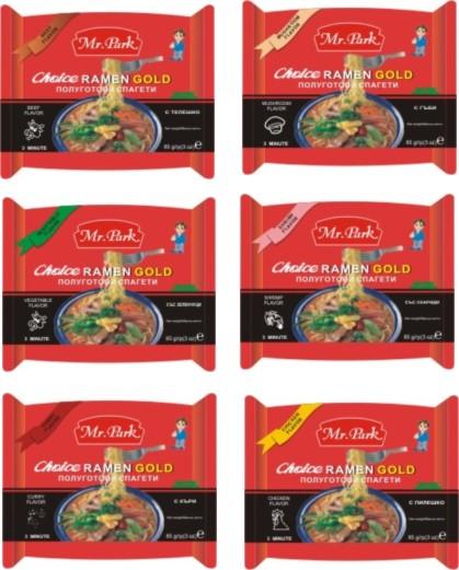 [Mr. Park] Instant Noodle 85g ([Г-н Park] Instant Noodle 85g)