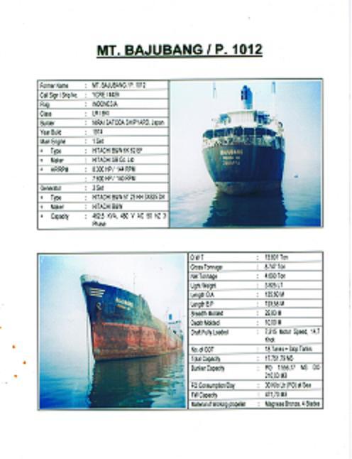 Scrap Vessels HMS 1/2 (Металлолом HMS 1 судам / 2)