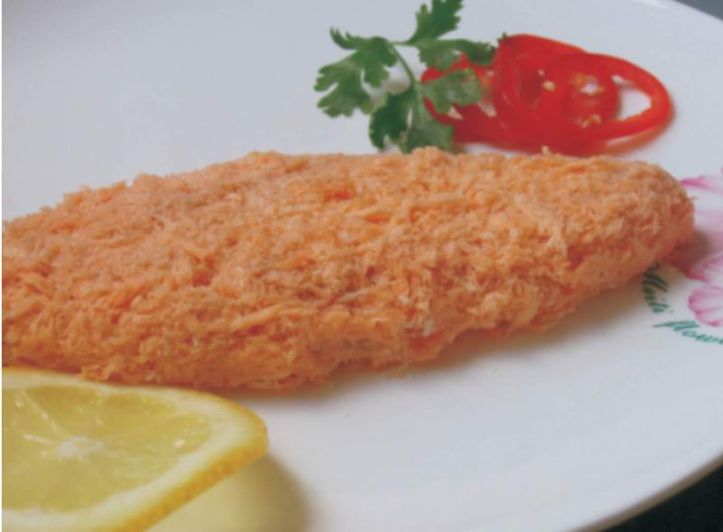 Breaded Fish Fillet (Рыбное филе в панировке)