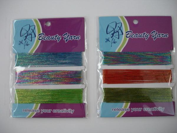 3 Colors Metallic Thread (3 цвета металлическая нить)