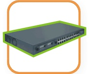 Layer 3 24 + 2 FX Port Routing Switch (Слой 3 24 + 2 порта FX Routing Switch)