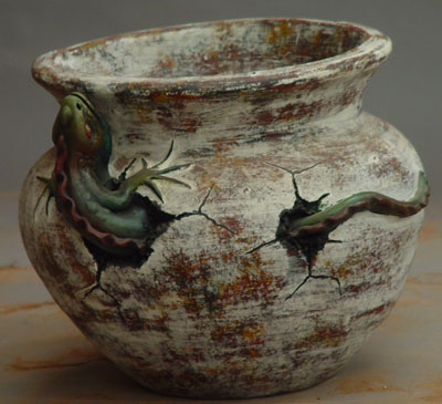 Flowerpot Iguana (Flowerpot игуана)