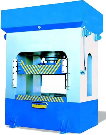 Hydraulic Metal Shaping Press (Гидравлический пресс для формовки металла)