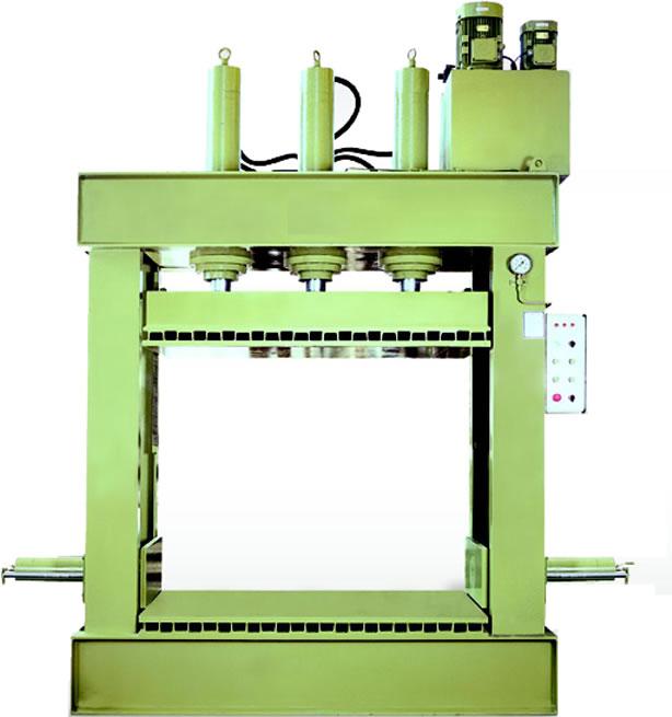 Hydraulic Press For Wooden Shaping (Гидравлический пресс для деревянного Формирование)
