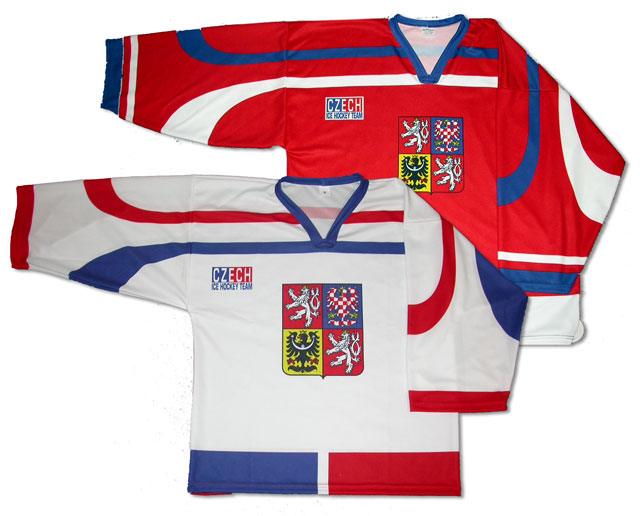 Hockey jersey - Czech Republic (Хоккей Джерси - Чешская Республика)