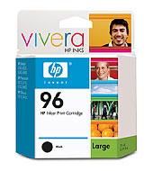 Ink Cartridge For HP C8767wn (# 96) (Чернила Картридж HP C8767wn (# 96))
