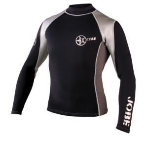Black White Rash Guard, Lycra Suit, Lycra T-Shirt (Черный Белый Rash гвардии, лайкра костюме, Lycra T-Shirt)