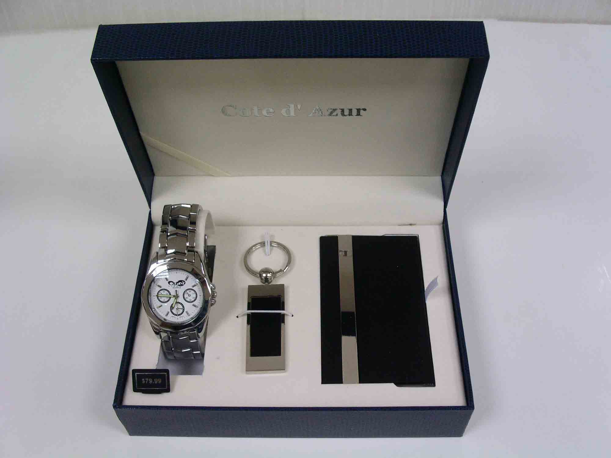 Men Watch Gift Set