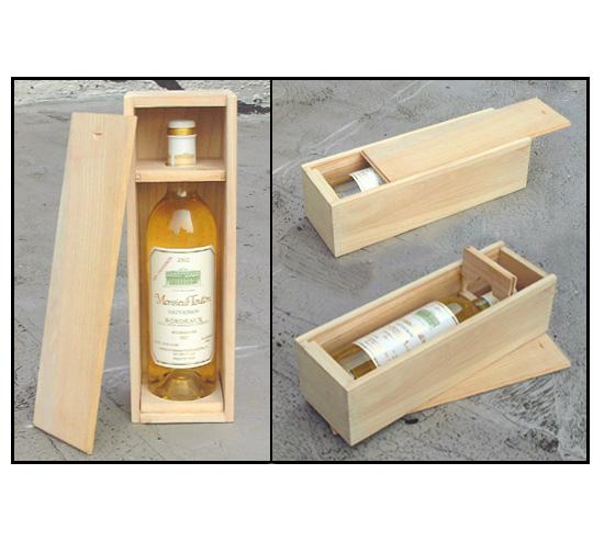 Коробка для бутылок своими руками