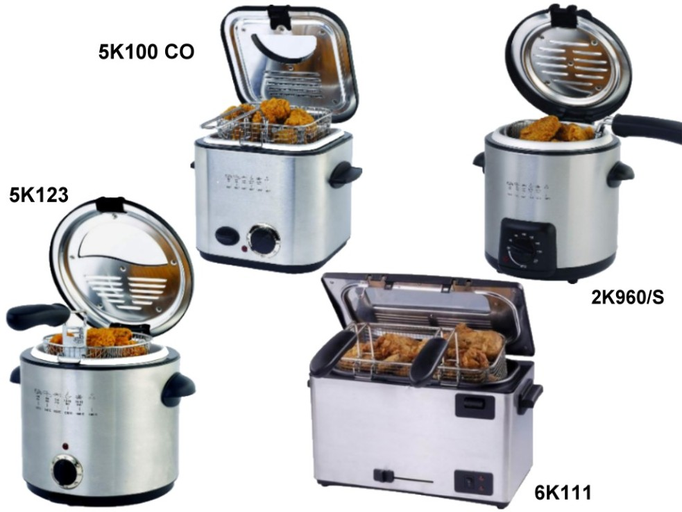 Stainless Steel Deep Fryer (Edelstahl-Fritteuse)