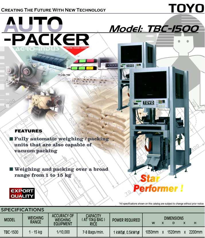 Auto Rice Packing Machine (Auto Rice Packing Machine)