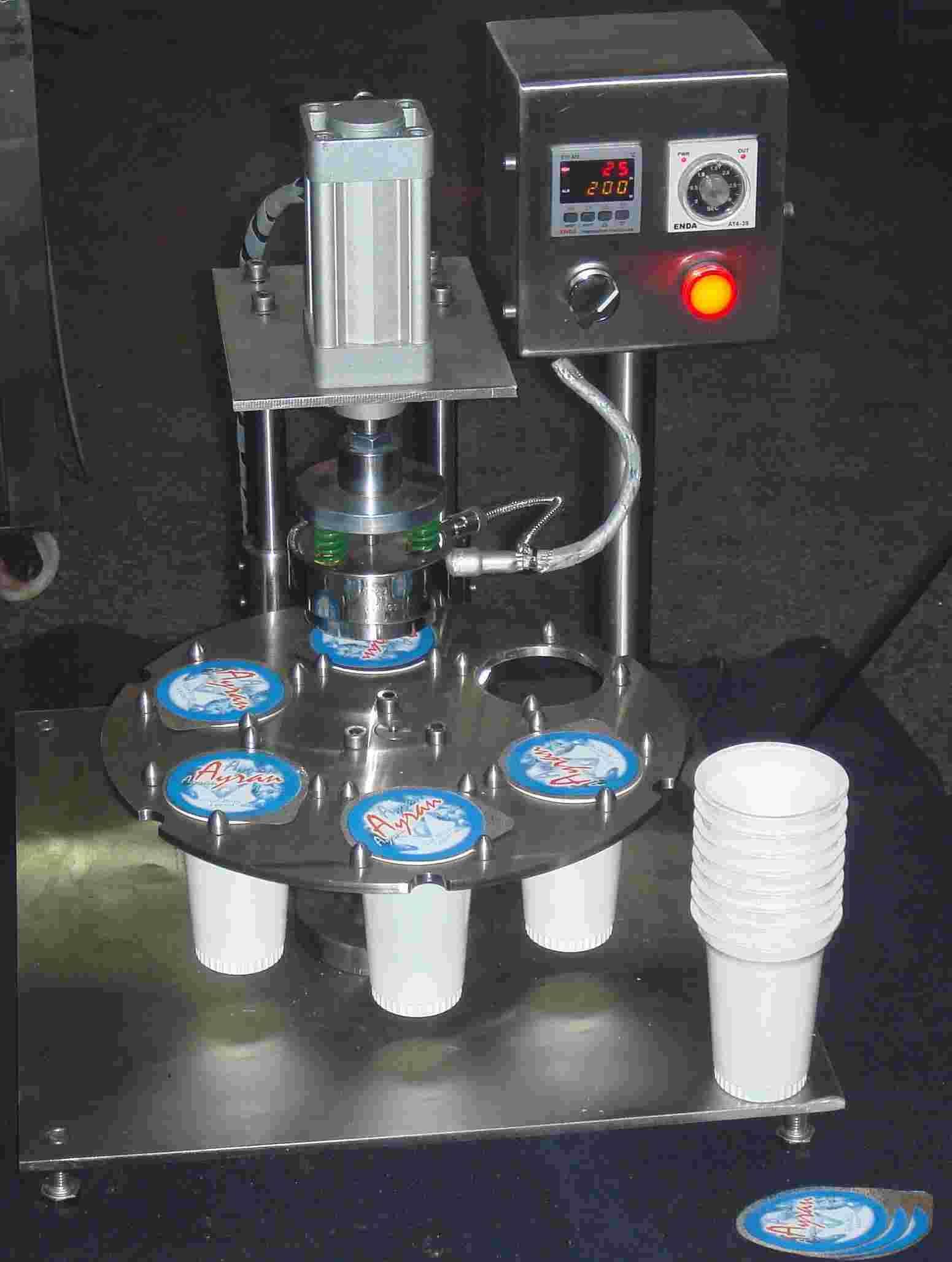 Manual Cup Sealer (Руководства Кубок Sealer)