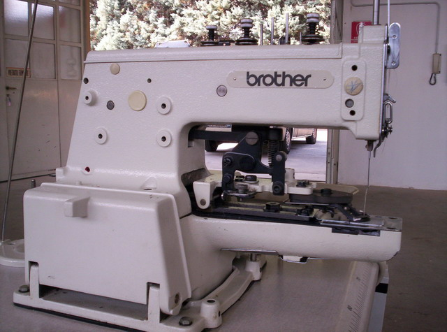 Used Sewing Machine Siruba Interesting Brother Button Sewing Machine