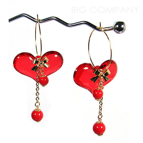 Heart Earring (Heart Earring)