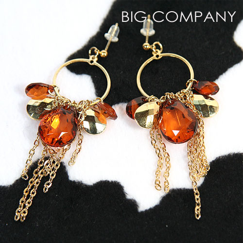Brown Earring (Brown Earring)