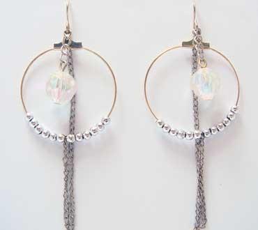 Unique Circle Earrings (Unique Circle Earrings)