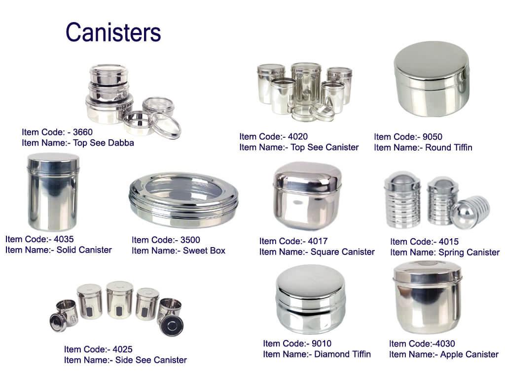 Stainless Steel Jars (Нержавеющая сталь Jars)