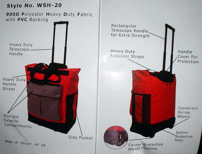 Trolley Traveling Bag 5000pcs
