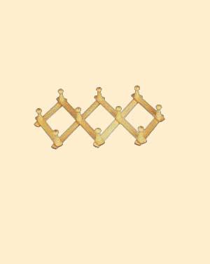Wooden Hanger (Деревянные плечики)