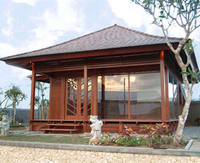 Pavilion Wooden House (Pavilion Holzhaus)