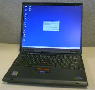 Notebook-IBM Thinkpad T30 P4 2, 0ghz (Notebook IBM Thinkpad T30 P4 2, 0GHz)