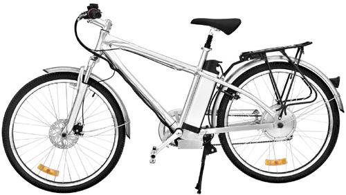 Electric Mountain Bicycle (Электрический горный велосипед)