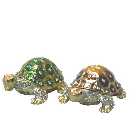 Tortoise Metal Jewellery Box-Artificial Crafts (Черепаха металлов ювелирные изделия Box-Искусственные ремесла)
