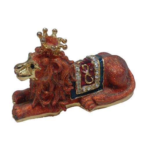 Lion King Metal Jewellery Box-Artificial Crafts (Король-лев Металл ювелирных Box-Искусственные ремесла)