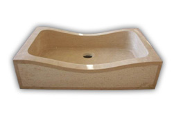 Classic Travertine Hammered Sink (Классические Травертин Hammered Sink)
