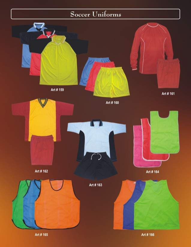 Soccer Uniforms (Футбол Униформа)