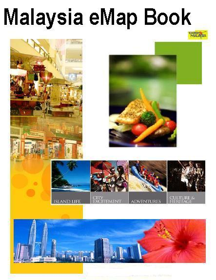 Malaysia E- map Book (Малайзия Электронная карта книг)