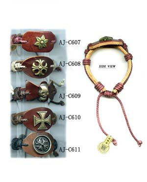 Leather Bracelet (Leder-Armband)