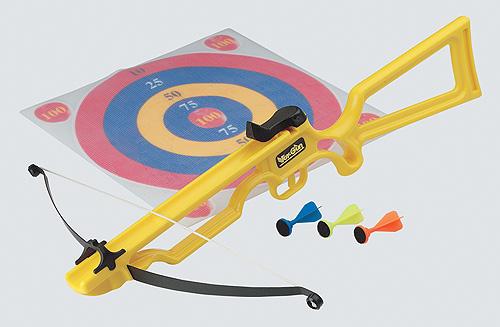 Toy Crossbow - Yellow / Velcro Target (Toy Crossbow - Желтый / липучках Целевые)