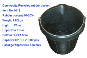 Recycled Rubber Bucket