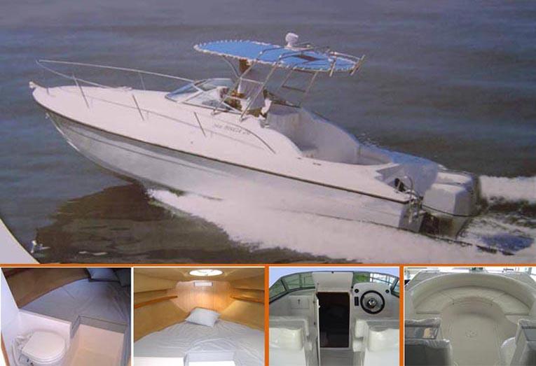 Cabin Cruiser Boat (Cabin Cruiser Boat)