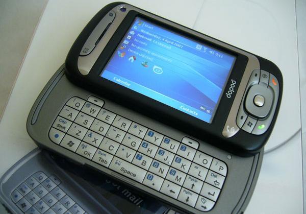 Dopod 838 Pro Windows 3. 5g PDA Phone Sliding Keyboard