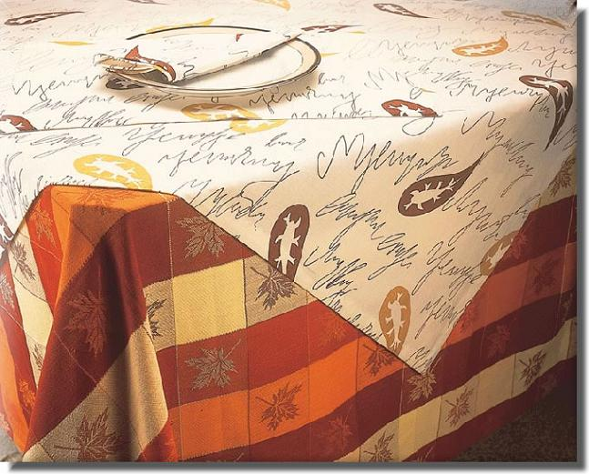 Printed Table Cloth & Jacquard Table Cloth (Печатный Скатерть & Жаккардовые скатерти)