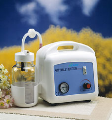 Portable AC suction