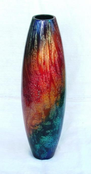 Mango Wood Vase M-036 (Mango Wood ваза М-036)