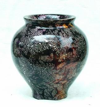 Mango Wood Vase M-042 (Mango Wood ваза М-042)