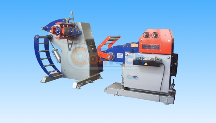 Uncoiler, Straightener And Servo Feeder Systems (Разматывающее, Straightener и серво системы подачи)