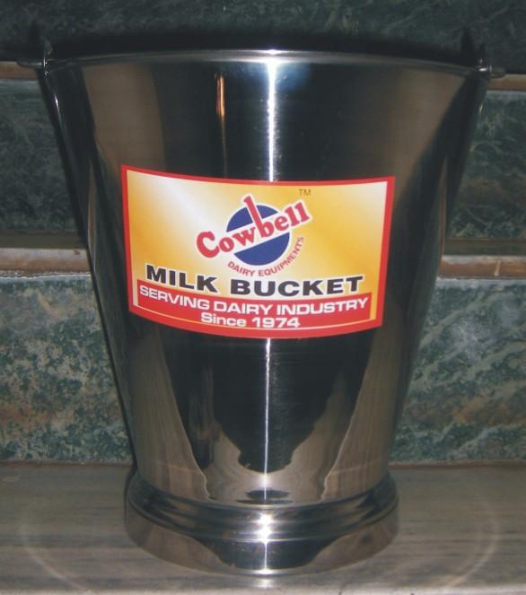 Milk Bucket Stainless Steel
